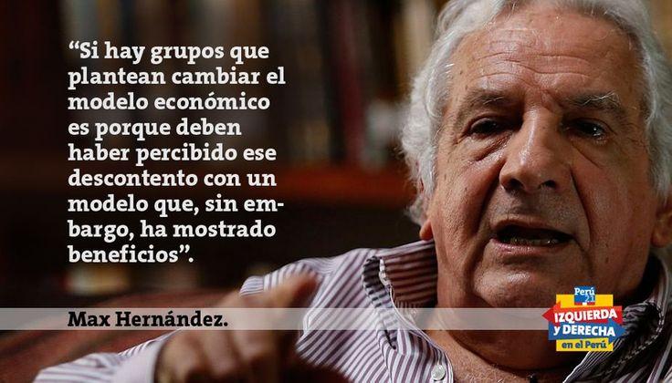Max Hernández: Sus pronósticos para las elecciones presidenciales del 2016
