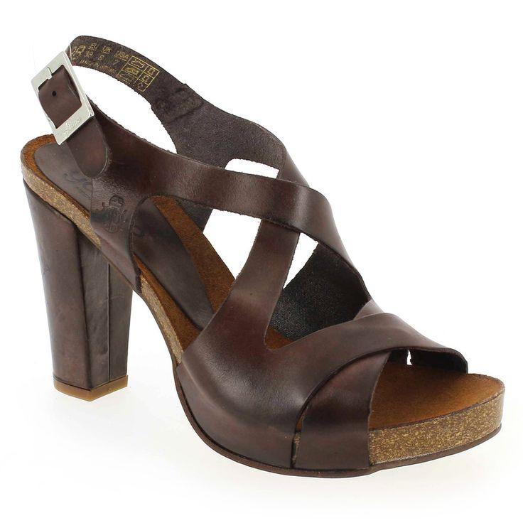 Chaussure Yokono BAKIO 001 Marron pour Femme | JEF Chaussures