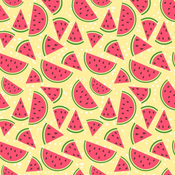 フリーイラスト, ベクトルデータ, AI, 背景, 食べ物(食品), 果物(フルーツ), 西瓜(スイカ), 夏,