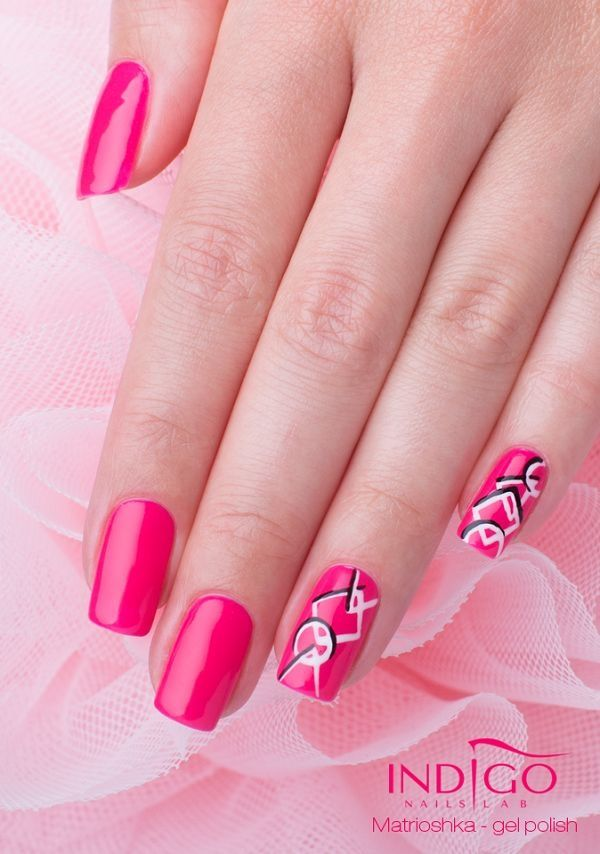 Matrioshka Gel Polish   Indigo Nails