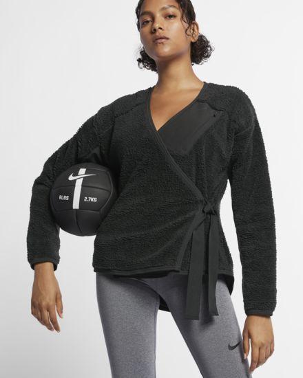 d4b6a9800ca Langærmet Nike-træningstrøje til kvinder   DESEOS   Nike long sleeve ...