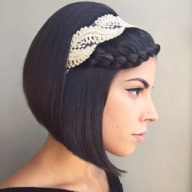 short hair styles for wedding best 25 hairstyles with headbands ideas on 1164 | fc8704c1164c18f8c1c80cf45e4da194 hairstyles with headbands hairstyles for short hair