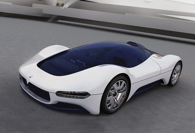 Maserati Birdcage Concept. Gotta luv the panoramic view!