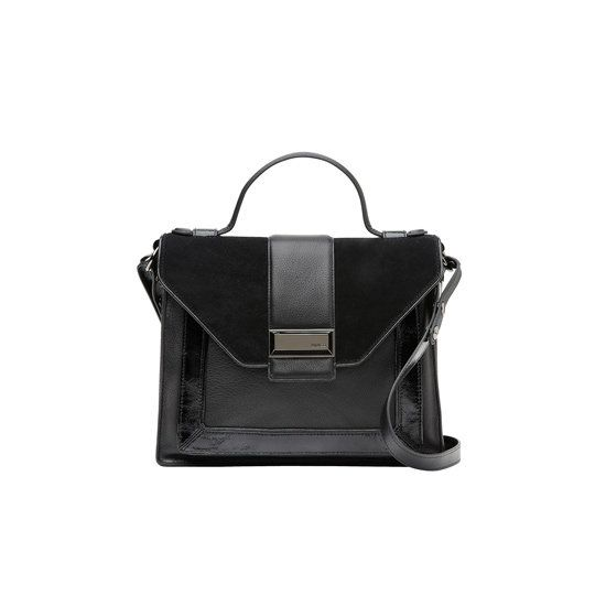 Accessories Trend: Small & Large Top-Handle Structured Bags - Mimco