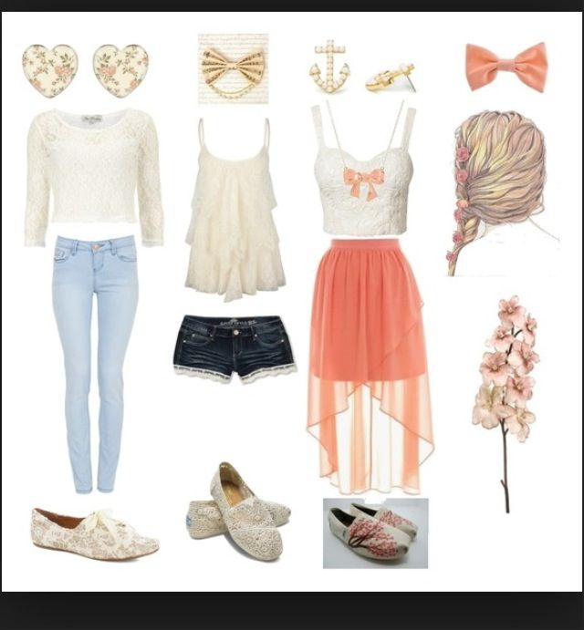 Awesome girly outfits! | Outfits | Cute summer outfits ...