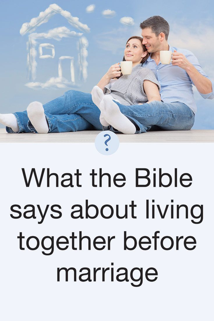 The Bible says in 1 Thessalonians 5:22 that we are to avoid the very appearance of evil. Living together without being married gives the appearance of evil and therefore should be avoided. It suggests that the couple involved is willing to limit their commitment to one another based on current feelings instead of long-term commitment based on God's design for marriage and His laws governing duration and nature of the relationship.Genesis 2:22-25; Ephesians 5:21-33; Hebrews 13:4; and Romans…