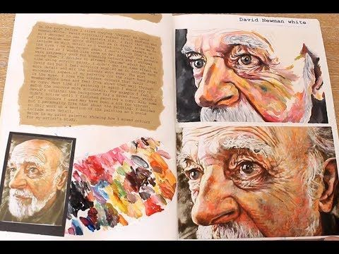 GCSE ART SKETCH BOOK - TOO MANY ARTISTS NOT ENOUGH IDEAS OR INDEPENDENT WORK!