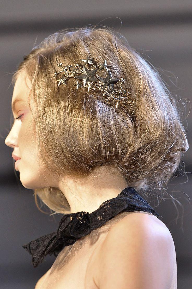 How Wylla Manderly would wear her hair in the Merman's Court  Rodarte runway