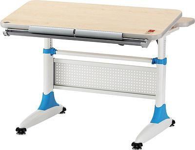 Стол МИКИ  — 25800р. ------------------------------------------- Это новая модель детского стола-парты, выполненная с учетом всех требований, предъявляемых к детской мебели. Она полностью соответствует всем потребностям ученика и растет вместе с ним. Высота столешницы изменяется в пределах от 53 до 79 см, так что парта подходит как для дошкольника или ученика младшей школы, так и для старшеклассника.