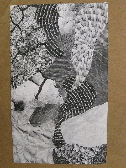 2D Design Texture Collage