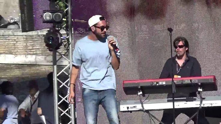 Marco Mengoni - prove Coca Cola summer festival-Piazza del popolo,26/ 6/...