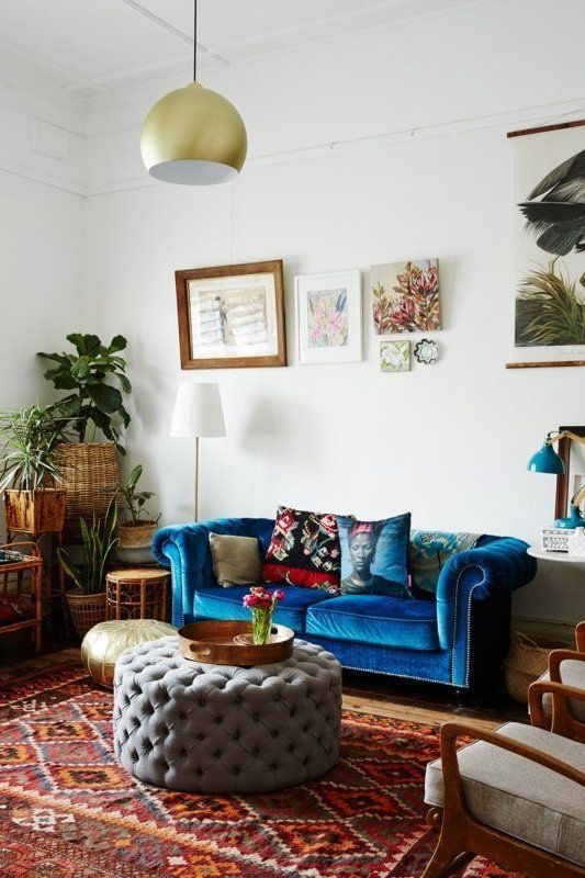 12 Spaces That Prove Velvet Is A Big Decor Trend Right Now