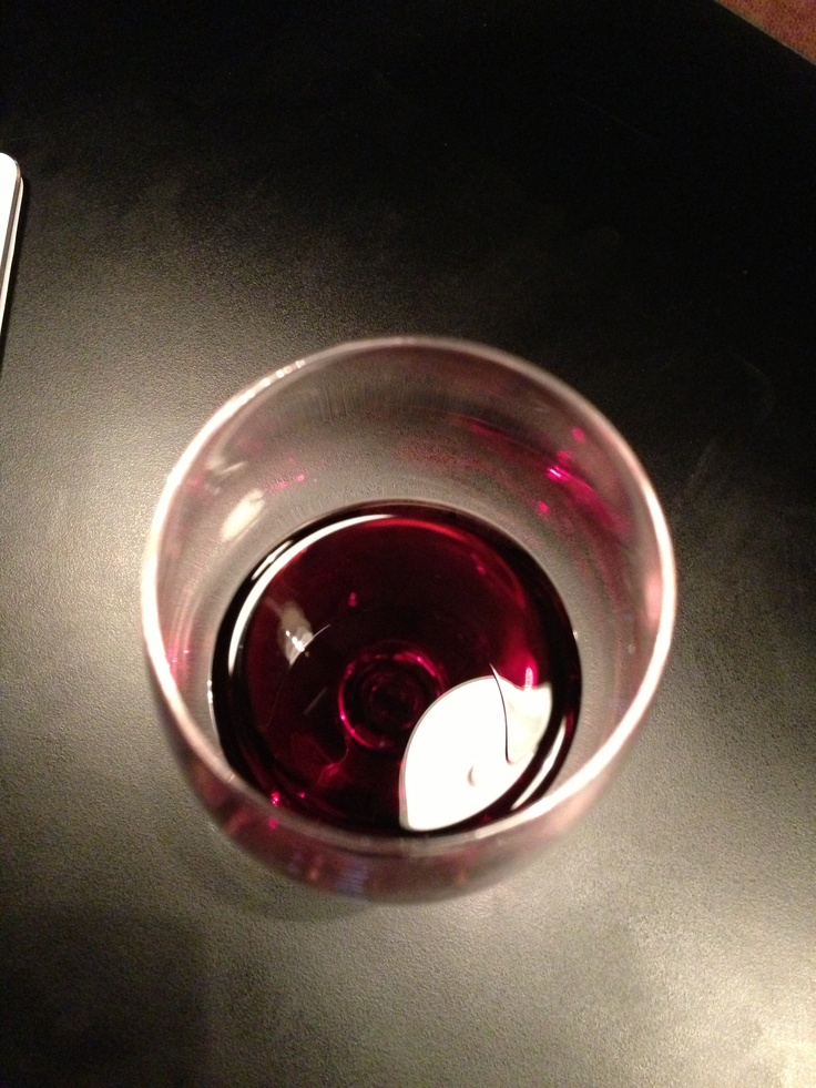 Glass of #Yealands Pinot Noir at @Clairel Oe. Hope you are having fun at #Prowein