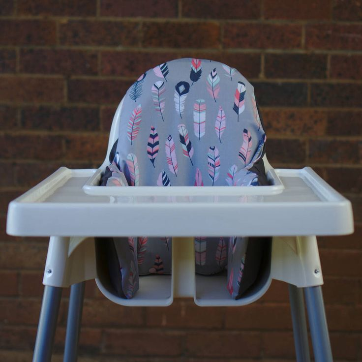 IKEA High Chair Cover To Fit Antilop Pyttig Cushion Insert - First Birthday Highchair Decor - Pear of Stitches - Boho Pink Tribal Feather by PearOfStitches on Etsy https://www.etsy.com/au/listing/537535679/ikea-high-chair-cover-to-fit-antilop