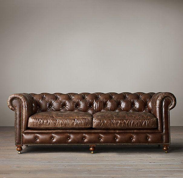Quot The Petite Kensington Leather Sofas Quot 84 Quot In Glove 2795