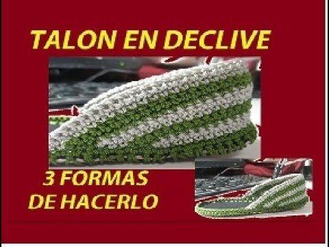 CAPELLADA DE TALON EN DECLIVE - YouTube