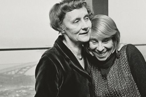 Astrid Lindgren and Tove Jansson