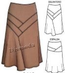 Мобильный LiveInternet Сшить юбку. Много идей и выкройки юбки | Марриэтта - Вдохновлялочка Марриэтты |
