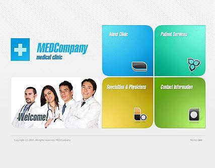 MEdCompany website template