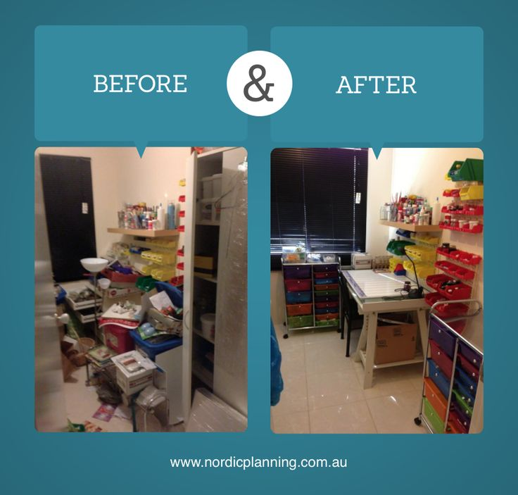 Before After Messy Junk Room Turned Into A Proper Crafts Kaarin Professional