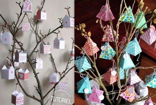 17 best images about tutoriel noel on pinterest deco - Comment faire un calendrier de l avent facile ...