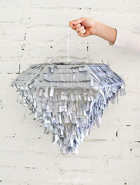 DIY piñata diamant
