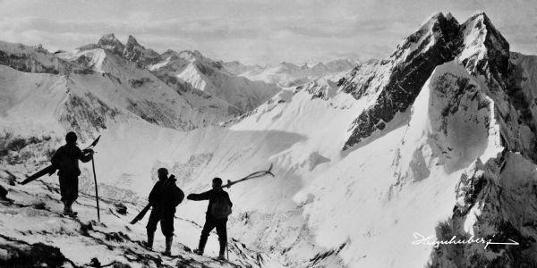 Einzigartige Bergbilder mit Geschichte. Nostalgische Skibilder für Ihr Zuhause…
