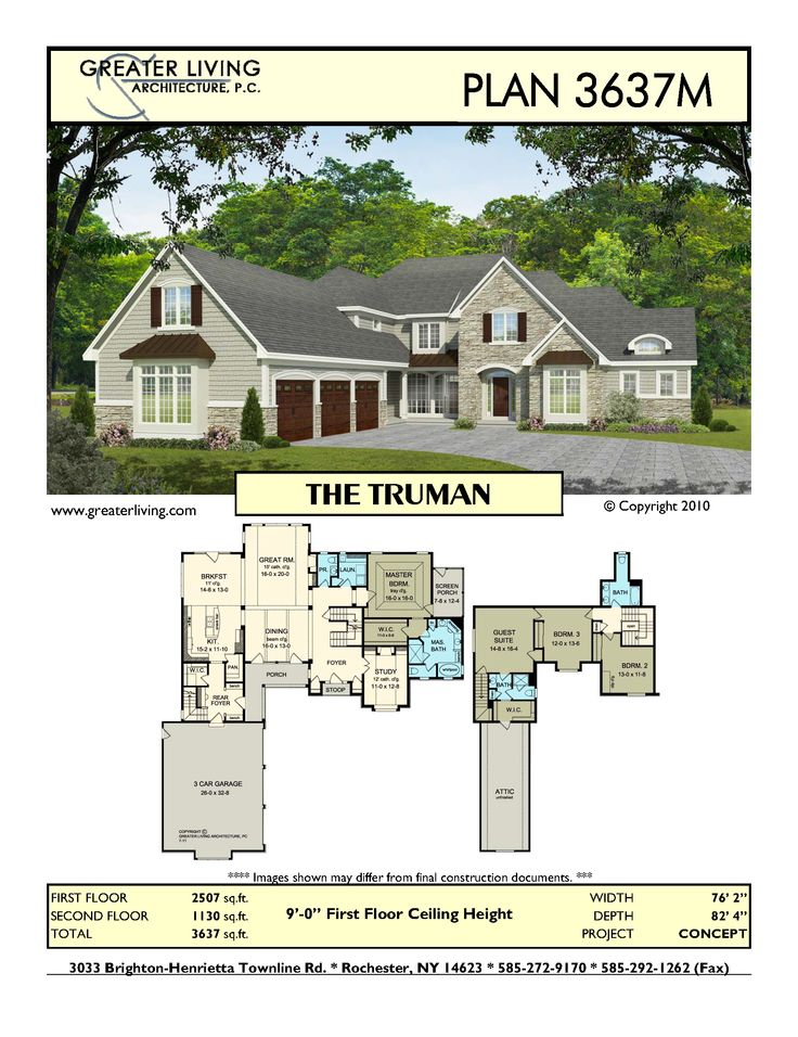 7 best Concept Plans images – Two Story House Plans With Master On Second Floor