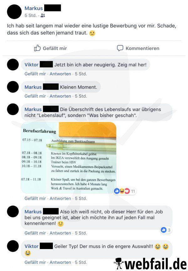 Ein Bisschen Humor Schadet Nie Facebook Win Des Tages 22 11 2018 Webfail Fail Bilder Und Fail Videos Funny Messages Jokes Quotes Facebook Humor