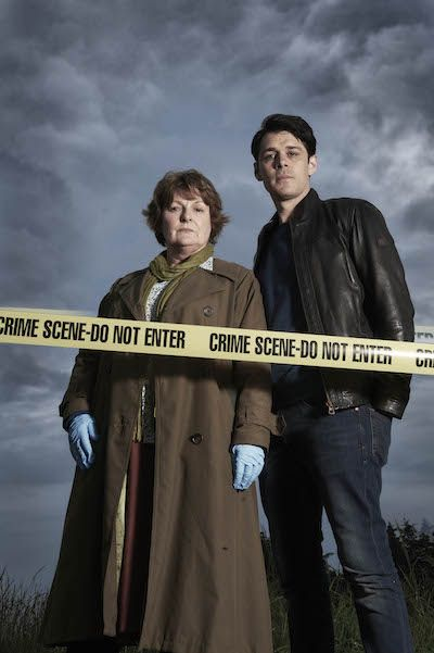 'Vera' series 5 ITV - Brenda Blethyn as DCI Vera Stanhope and Kenny Doughty as DS Aiden Healy.