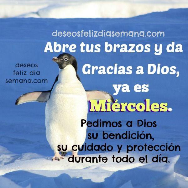Centro Cristiano para la Familia:   Feliz Miércoles. Gracias a Dios ya es Miércoles...