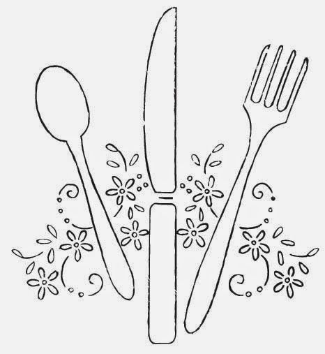 Hudson's Holidays - Designer Shirley Hudson: Spoon, Knife, Fork...perfect for your tea party