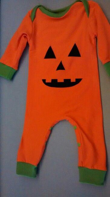 Halloween kostuum baby - Pompoen