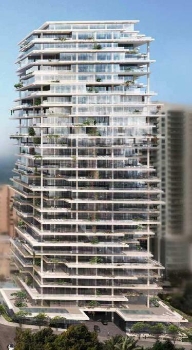 Beirut Terraces Tower, Lebanon by Herzog & De Meuron Architects