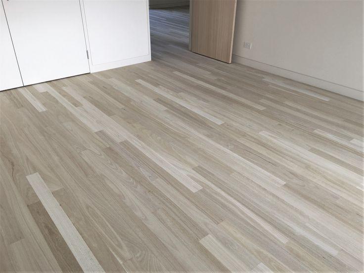 Bleached Wooden Flooring