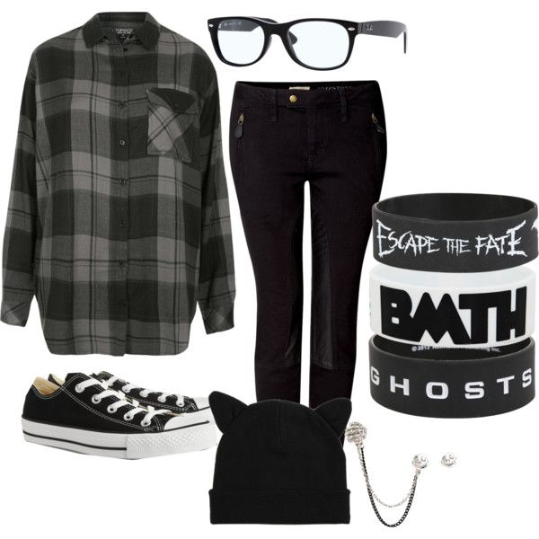 """Skip the wristbands and this outfit is perfect """"Untitled #259"""" by itsmesoshutup on Polyvore"""