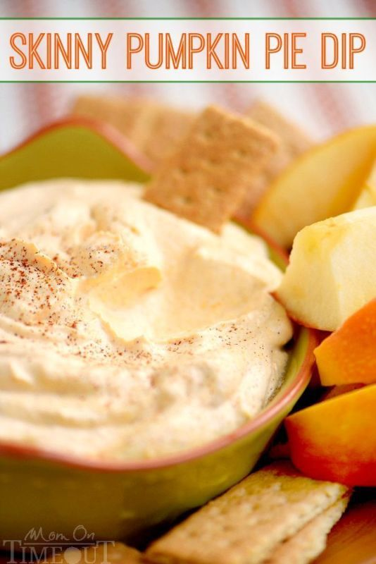 Everyone expects to gain a few pounds during the holiday season, but why take the chance? Minimize weight gain this year by switching to snacks low in fat, such as Skinny Pumpkin Pie Dip. The perfect accompaniment for fruit, crackers, or cheese, pumpkin dip tastes decadent but uses low calorie Greek yogurt as its nutritious base. Don't avoid sweets this season, just enjoy healthy options instead. Get the skinny on low-fat pumpkin dip in this eBay guide.