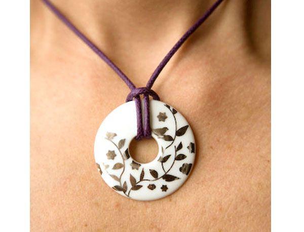 #bijoux #porcelaine collier