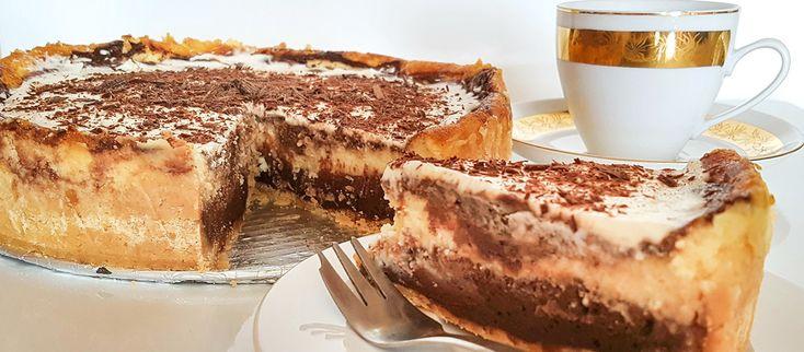 Pre všetkých milovníkov čokolády. Upozornenie: vieme, že cheesecake je potrebné nechať istý čas tuhnúť, a to je čas, kedy sa neviete dočkať na kúsok z tohto dokonalého dezertu! Ale verte mi, tu sa …