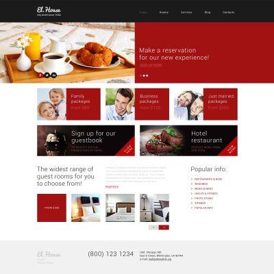Dream Escape Inn Responsive WordPress Template