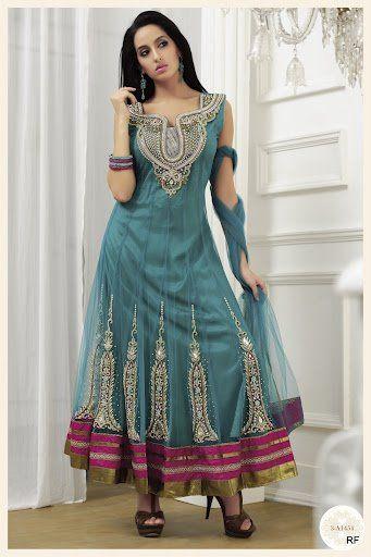Wedding Salwar Kameez | Women Long Bridal & Party Wear Readymade Salwar Kameez Collection 2013 ...
