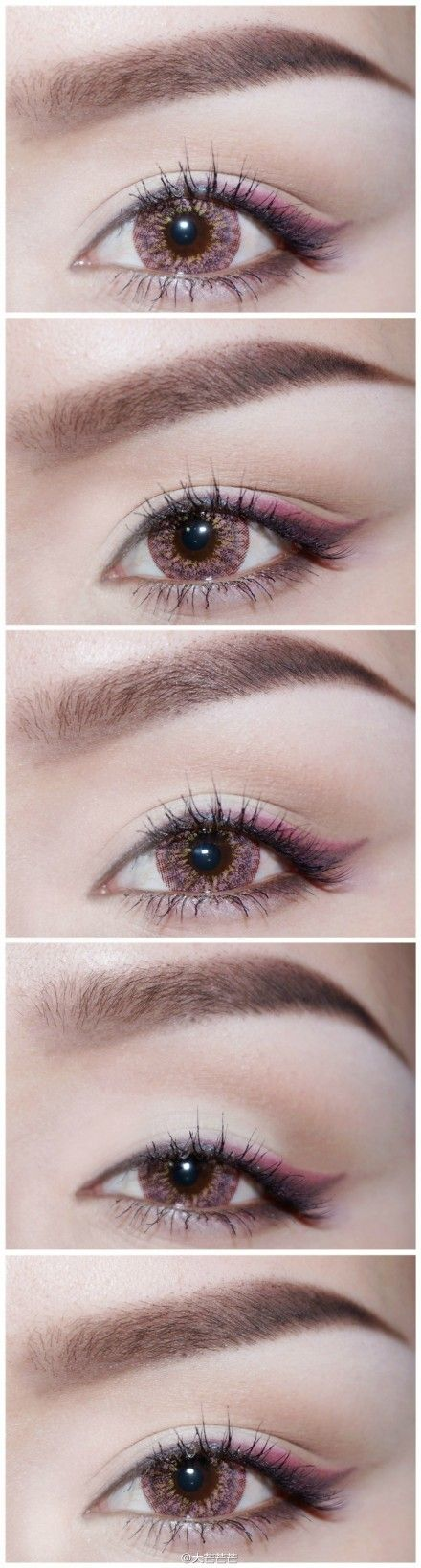 Like the little bit of extra color at the end of the wing! #makeupjunkie