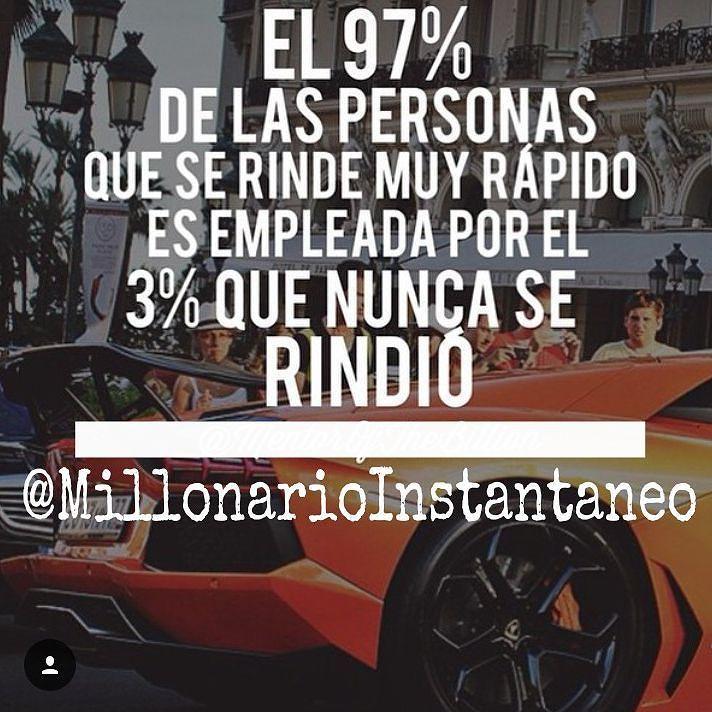 Time for motivational quotes by millonarioinstantaneo PARA LOGRAR CONVERTIRTE EN EMPRESARIO Y EN TODO UN MILLONARIO EL SECRETO ESTÁ EN DAR EL PASO CON ABSOLUTA FE.. Y NUNCA DESISTIR DE TU SUEÑO. JUSTO AHÍ RADICA EL ÉXITO.. ESO SI... JAMÁS TE RINDAS... PASE LO QUE PASE NO TE RINDAS.. RECUERDA EL TODO ESTÁ EN LAS BUENAS IDEAS Y LA PERSEVERANCIA SIGUENOS EN INSTAGRAM @millonarioinstantaneo @millonarioinstantaneo @millonarioinstantaneo @millonarioinstantaneo @millonarioinstantaneo @millonario...