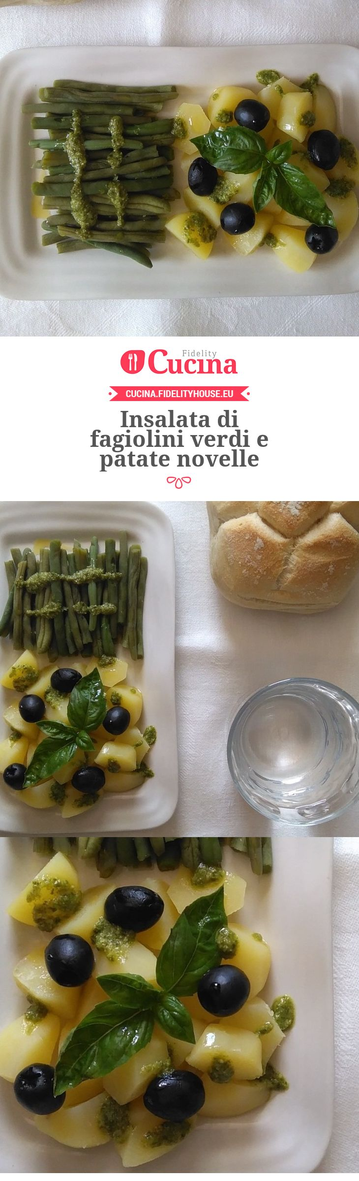 Insalata di fagiolini verdi e patate novelle