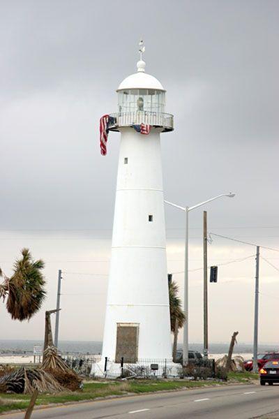 the Biloxi lighthouse... still standing strong, post Katrina