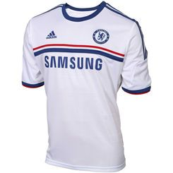 adidas Chelsea FC 2013/14 Away Performance Jersey - White