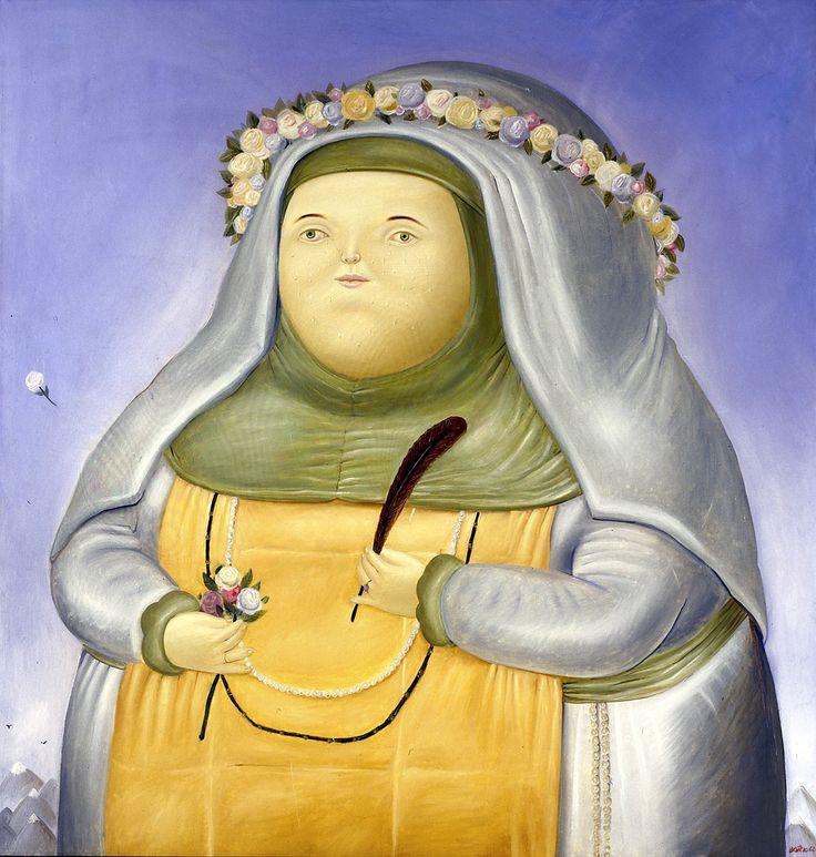 Fernando Botero, Santa Rosa de Lima, 1968 #pavelife #art #inspiring