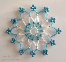 beading christmas decorations - Google Search