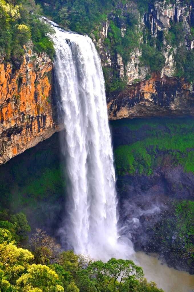 Cachoeira do Avencal, Canela, Rio Grande do Sul, Brazil Enjoy your journey to a colorful and diverse land. 'Like' us on facebook. https://www.facebook.com/AllThingsBrazil