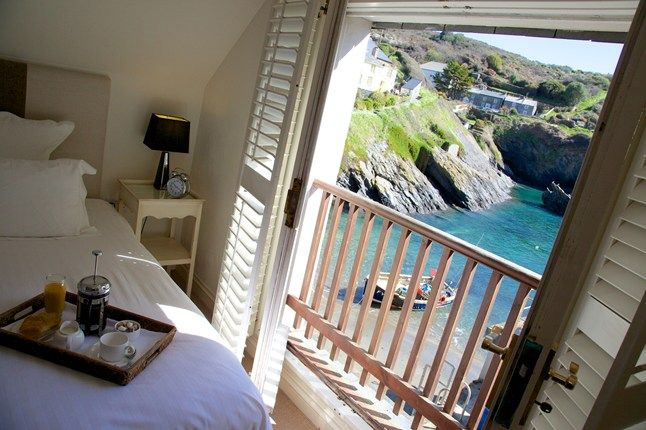 The Lugger Hotel in Portloe, Cornwall | via cntraveller.com